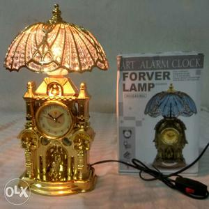 Brand New Alarm Clock with Lamp.