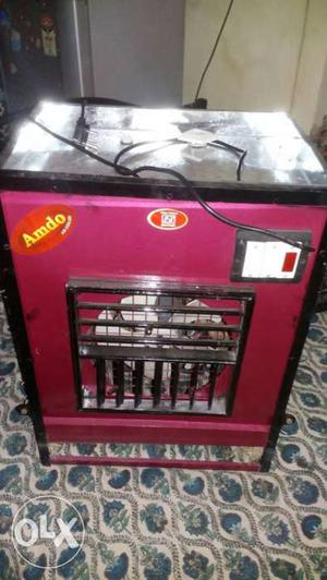 Red And Black Amdo Evaporative Air Cooler
