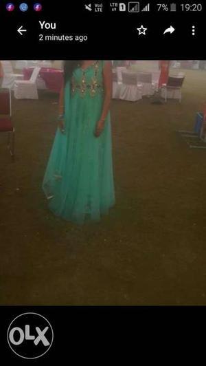 C green clr ka gown hai..sirf 2 times pehna