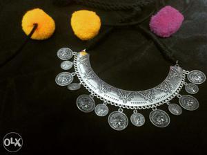 Handmade german silver necklace
