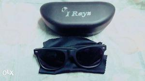 I Rays black uv rays protected sunglass for men