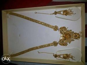 Urjent sell long chandi neckless 1 and 2 time