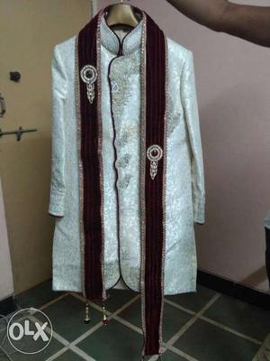 Wedding Indo western suit in very good
