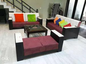 8 seater Sofa set almost new condition, double