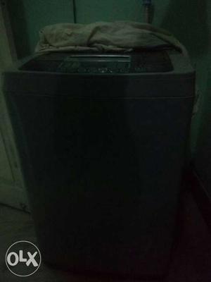 Black Top Mount Washing Machine