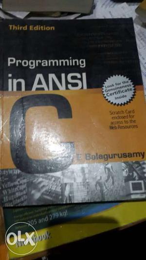 "Book on ""C"" & ""C++"" (E Balagurusamy) Set of two books"