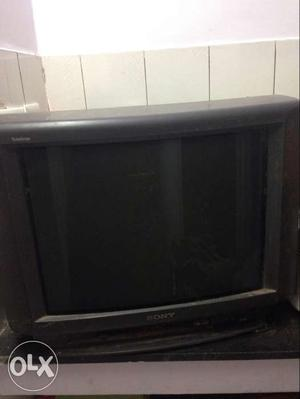 Colour television in working condition