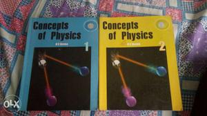 Concepts of physics Hc verma volume 1 and 2