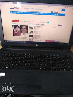 Hp i3 5th generation laptop. 11 months old. 4gb