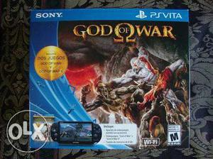 PS Vita 10 months old with 16 GB memory card and God of war