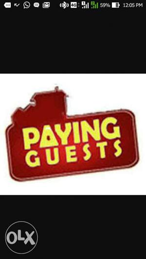 Paying guest facility for a female at panampally