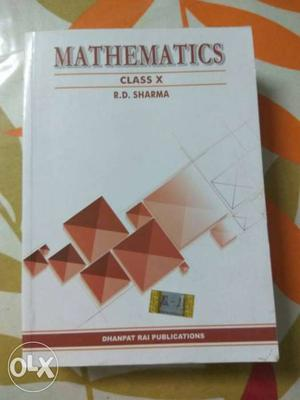 R.D. Sharma Mathematics Class 10 BRAND New Unused