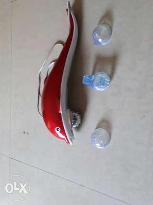 Red Dolphin Body Massager