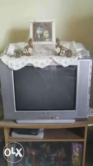 Samsung flat TV in excellent working condition.