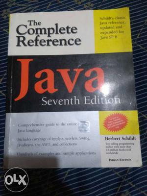 The Complete Reference Java Seventh Edition Book