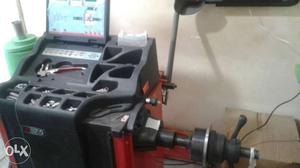 Black And Red Frame Equipment