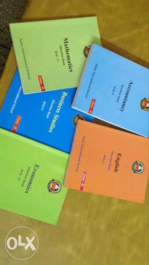 Commerce book set of 5 books -very helpful