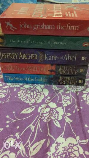 Five Jeffrey Archer Book Series
