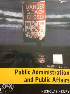 Public Administration Textbooks (A collection of 6 books)
