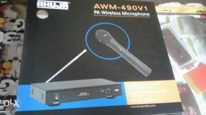 R Ahuja AWM-490v1 PA Wireless Microphone Box