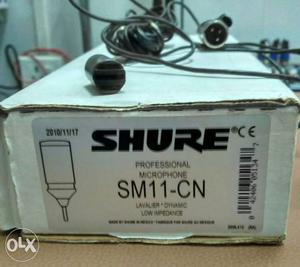Shure SM11-CN Microphone Box