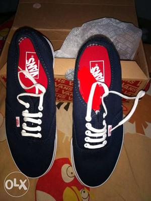 Vans new shoes. UK 8 size. Brand new. unused