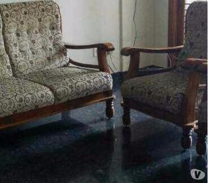 3+1+1 seater teakwood furniture for sale Bangalore