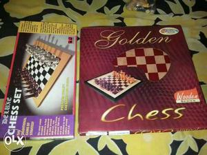 Brand new chess sets unused both for 300 rs only