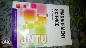 Management science text book by A R Aryasri