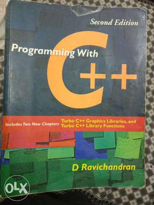 Programming With C++ Book