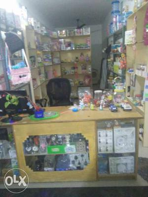 All gift, toys, plasticwere with furniture