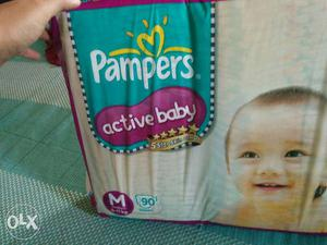 Brand new sealed pack of Active Baby pampers