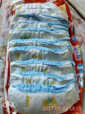 Huggies Dry Large Size Diapers (10 Pads)