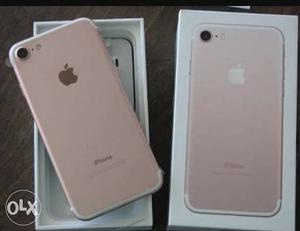 IPhone 7 32 Gb Rose Gold with Bill like New Not a