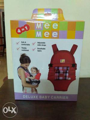 Mee Mee brand Box pack (NEW) babycarrier unused