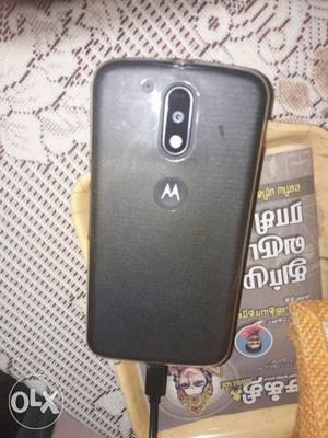 Moto G4 with gòod condition. 3 months old. with