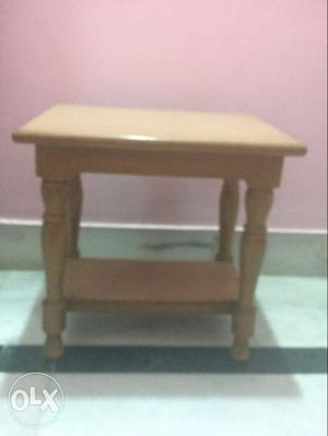 Pure wood, good quality stool that can be used in