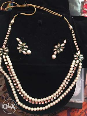 Fashion Jewellery: Necklace and earring