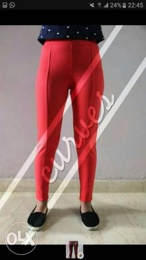 High quality imported jegging sizes available