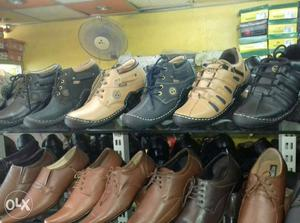 New leather shoes available in best price home delivery.