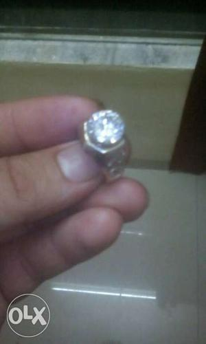 Artificial diamond ring for gift purpose or self