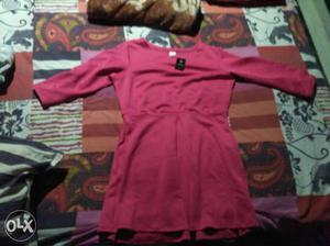 Pink blush dress size xl nd pearls shoe size 42