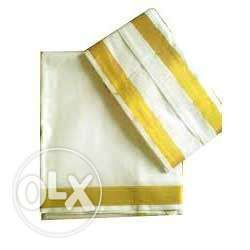 Pure Mysore silk Dhoti and Panche