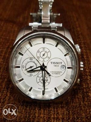 Tissot white dial with 3 inner dials