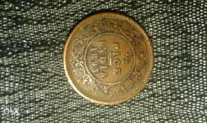 194 years old 1/2 pice copper coin of British