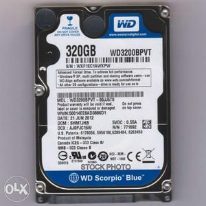 320 GB Laptop HardDisk