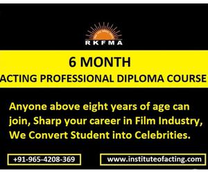 Acting Classes in India + Delhi