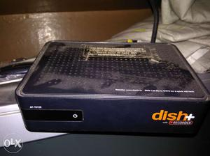 Dish TV set up box with remote,wire,adopter,dish.