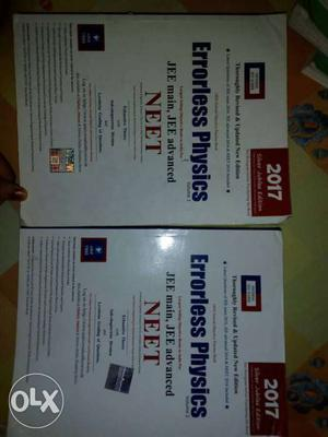 Errorless PHYSICS Vol 1 and 2 for JEE main, JEE