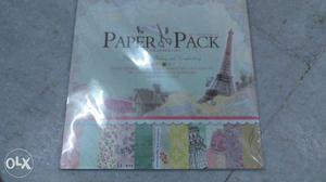 """Paper Pack 12""""x patterned papers and 3 die cut"""